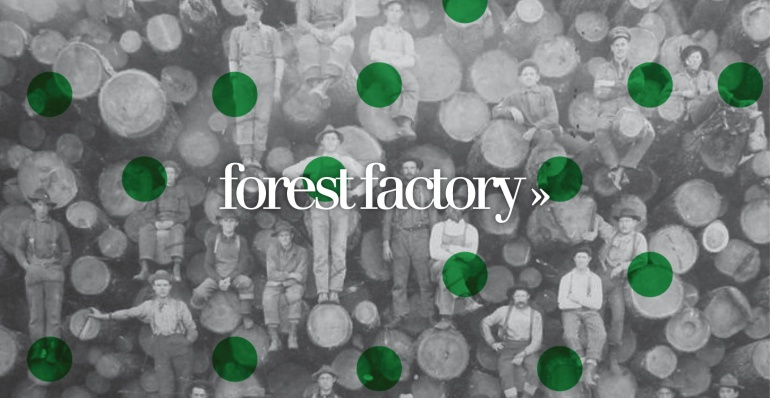 Concept voor de Strawberry Earth Academy: the Forest Factory