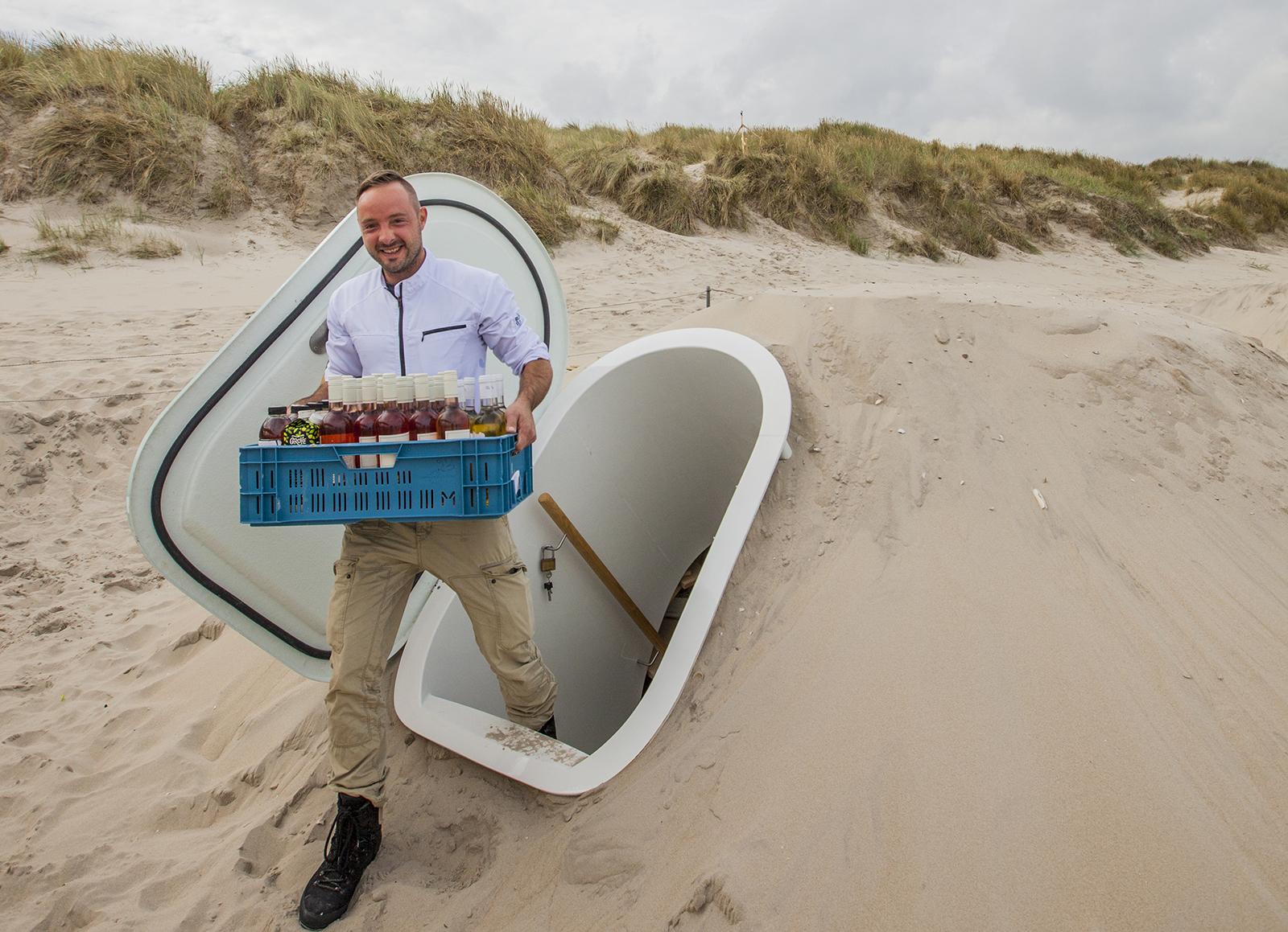 De Groundfridge gaat viral