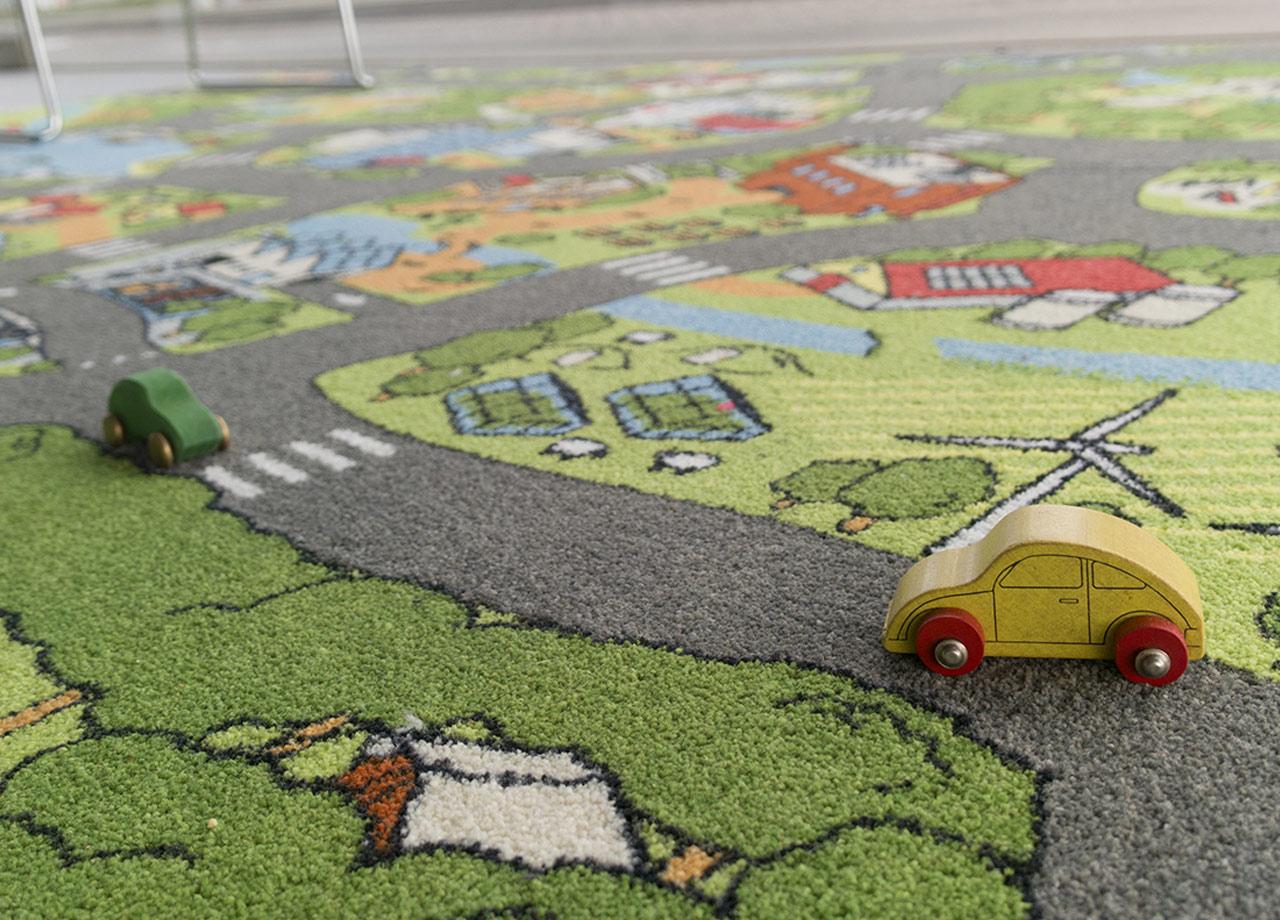 Circular City Carpet
